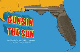 guns in sun