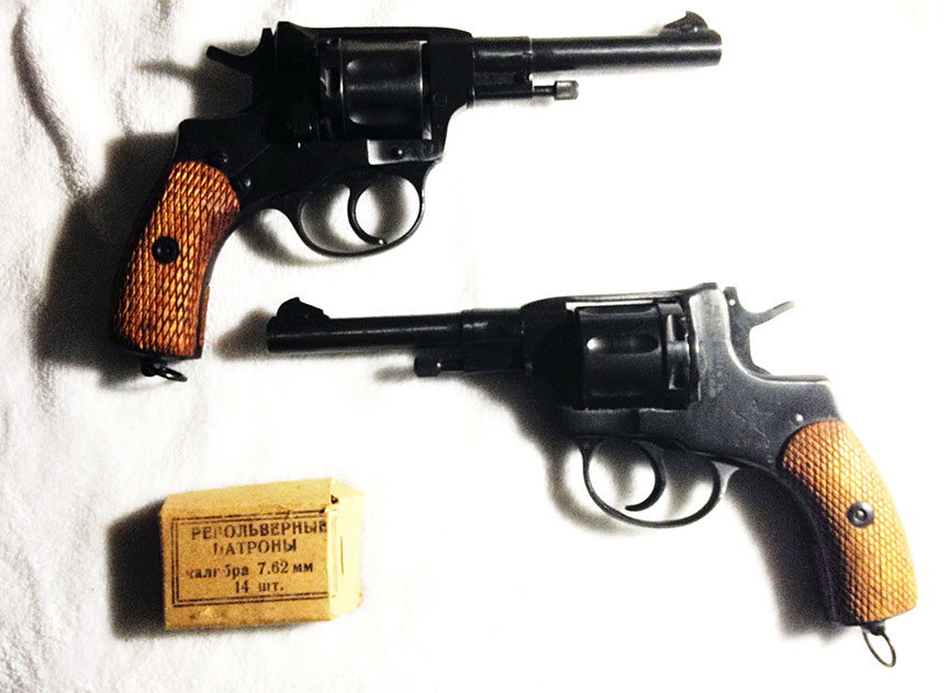Gun of the week number 6: Russian Nagant M1895 Revolver