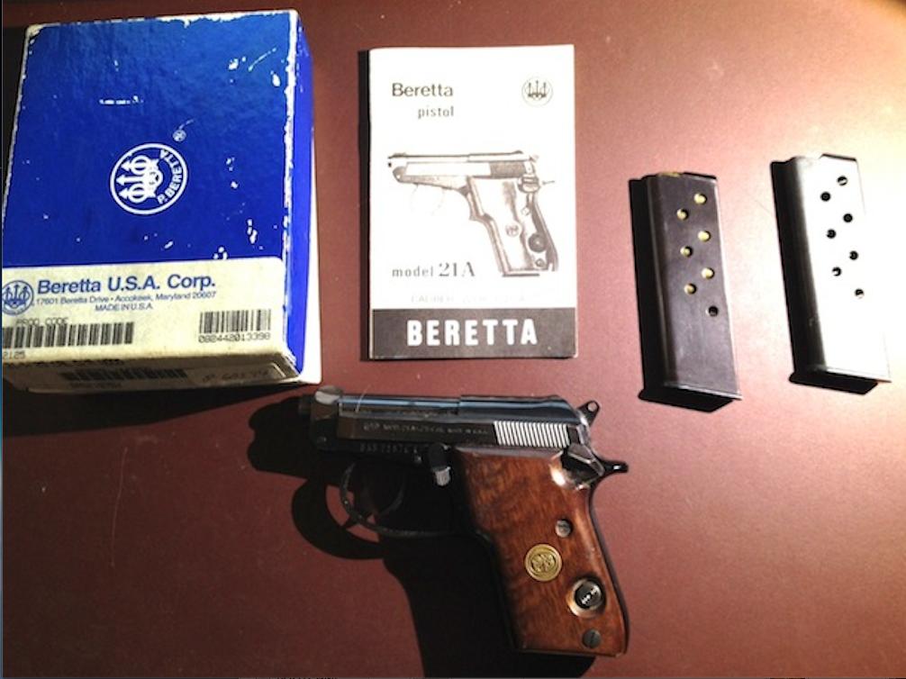 Gun of the Week #14: Beretta 21a | crypticpunk [krip-tik